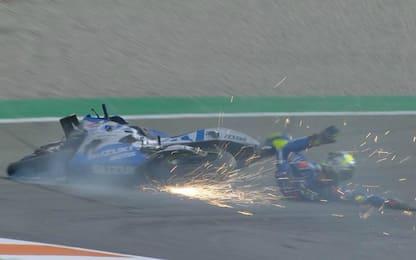 Valencia: Mir cade e resta fuori dai 10. VIDEO