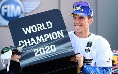 Valencia, vince Morbidelli. Mir campione del mondo