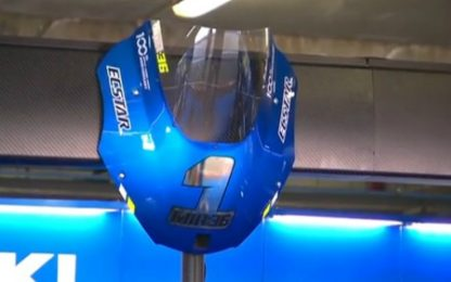 Suzuki, spunta il cupolino col n.1 in onore di Mir