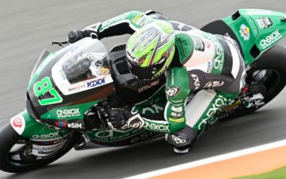 Moto2: Gardner in pole. 2° Marini, 4° Bastianini