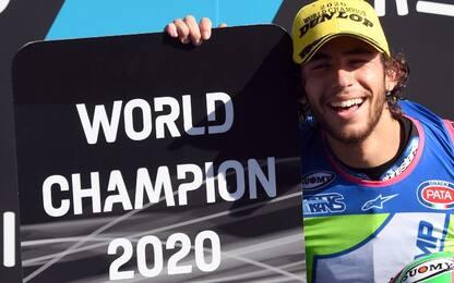 Moto2, Bastianini è campione del mondo