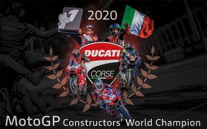 Ducati vince il titolo costruttori: le classifiche