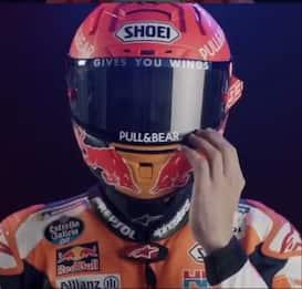 Marc Marquez svela il casco del 2021. VIDEO