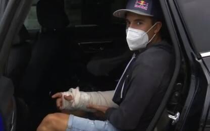 Marquez, consulto in corso sulla terza operazione