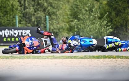 Chi è caduto di più in MotoGP? La classifica