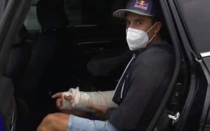 Marquez resta in ospedale: infezione alla frattura