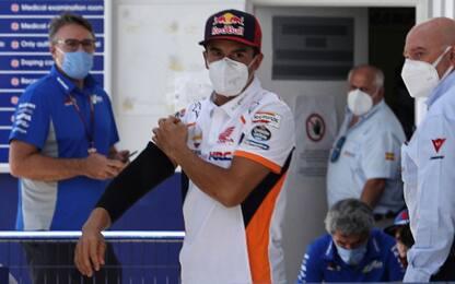 """Marquez: """"Sono coraggioso, ma non incosciente"""""""