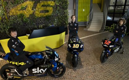 Sky Racing Team VR46, svelate le livree del 2021