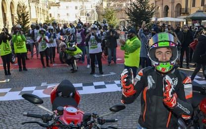Bastianini campione: l'omaggio di Rimini