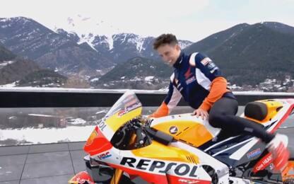 Pol Espargarò, sorpresa: il prototipo Honda a casa