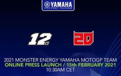 Yamaha, presentazione sul web il 15 febbraio