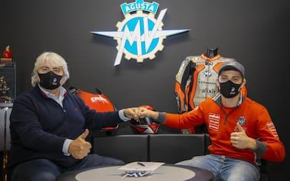 Moto2, Marcon firma per MV Agusta Forward