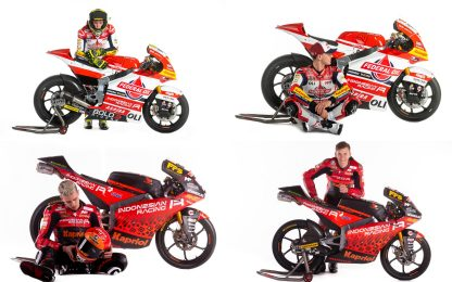 Team Gresini, svelata scuderia Moto2 e Moto3. FOTO