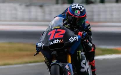 Test Moto2-Moto3, Bezzecchi e Rodrigo i più veloci