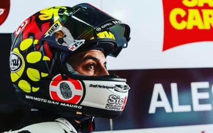 Infortunio per Casadei, salta i test di Jerez