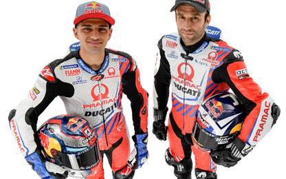 Pramac Racing 2021, una squadra per due contrari