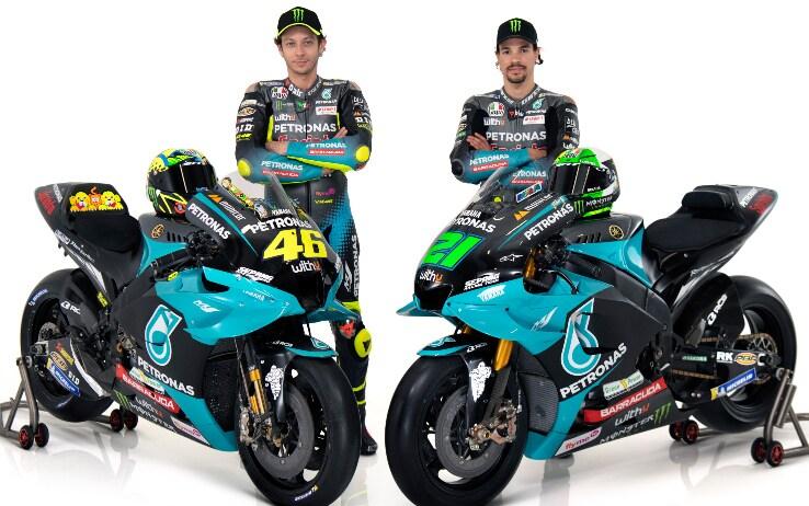 Petronas, Rossi e Morbidelli