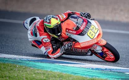 Test Jerez, bene i piloti italiani della Moto3