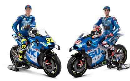 Suzuki, svelata la nuova moto di Mir e Rins
