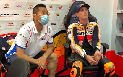 Marquez out, Honda a Losail con Espargaró e Bradl