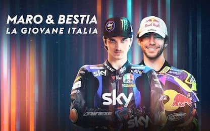Maro&Bestia, la giovane Italia: lo speciale su Sky
