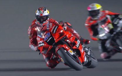 Miller, giro Doohan style a Losail. VIDEO