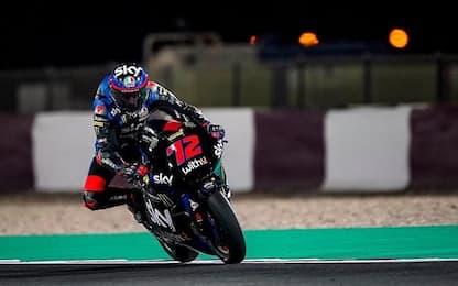 Moto2, Lowes è il più veloce. 2° Bezzecchi