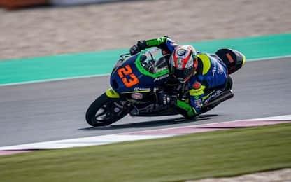 Moto3 all'italiana: Antonelli in pole, 3°  Rossi