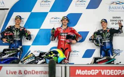 Griglia di partenza: Ducati e Yamaha protagoniste