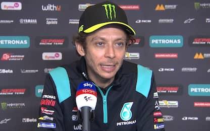 """Rossi 12°: """"Stresso troppo la gomma posteriore"""""""