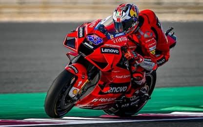 FP2, Ducati show: 1° Miller, 2° Bagnaia, 3° Zarco