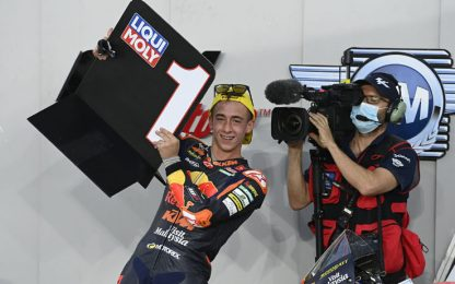 Moto3, vince Acosta, 2° Foggia. Moto2 alle 15:30