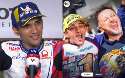 "Martin, 1° podio in MotoGP: ""Lo dedico a Gresini"""