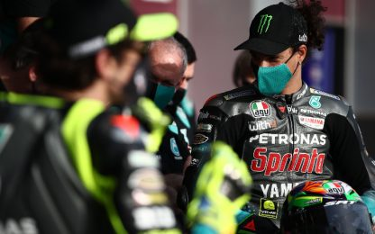 "Morbidelli: ""Fiducioso"". Vale, focus sul setting"
