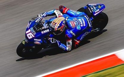 Moto2, libere: Roberts il più veloce, 5° Bezzecchi