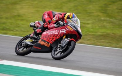 Libere Moto3: Rodrigo il più veloce, 2° Migno