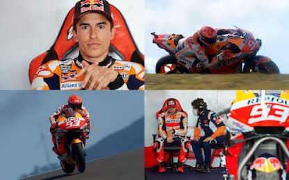 Emozionato, ma veloce: il ritorno di Marquez. FOTO