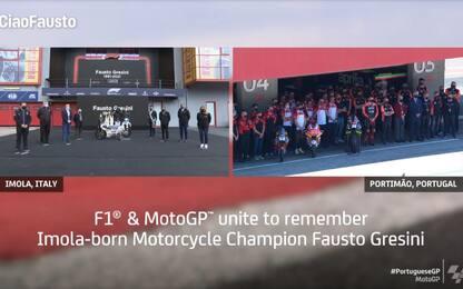 MotoGP e F1 unite nel ricordo di Gresini. VIDEO