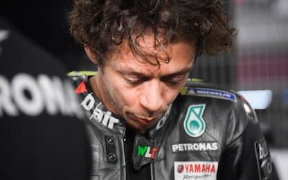 """Rossi: """"Peccato per la caduta, il passo era buono"""""""