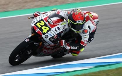 GP Spagna, Suzuki in pole. 3° Migno, 5° Fenati
