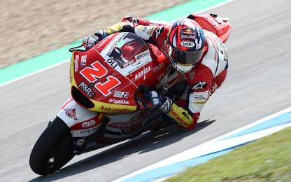 Moto2, vince Di Giannantonio. Moto3, super Acosta