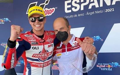 Moto2: vince Di Giannantonio, 2° Bezzecchi