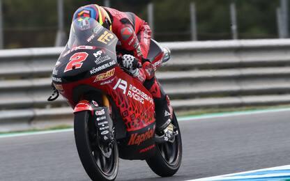 Libere Moto3, domina Rodrigo. 4° Antonelli
