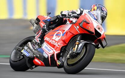 Ducati super: Libere a Zarco. 2° Morbidelli