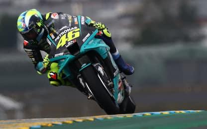 Rossi confermato in Q2, Bagnaia resta fuori
