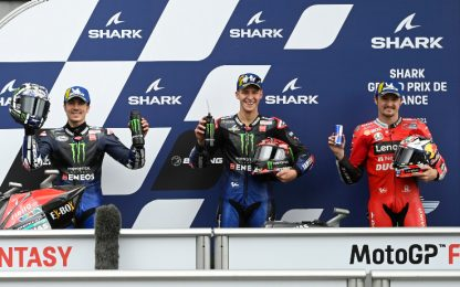 Le Mans, doppietta Yamaha: la griglia di partenza