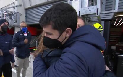 """Riccardo Rossi 3°: """"Podio per Fausto Gresini"""""""