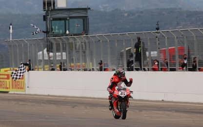 Aragon: 'sprint' a Rea, riscatto Redding in gara 2