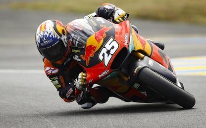 Moto2, Fernandez in pole. 5° Di Giannantonio