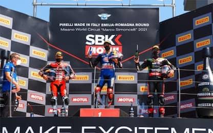 Misano: Razgatlioglu vince gara-2, Rinaldi secondo